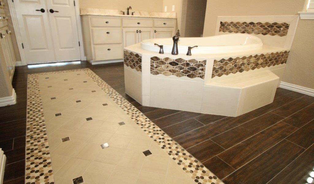 bathroom flooring and bathroom remodel